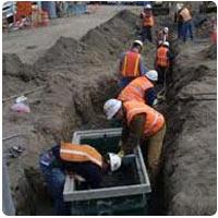 Underground Cabling Installation